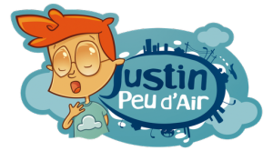 Logo de l'animation Justin Peu d'Air