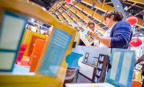 Atelier Justin Peu d'air proposé lors du salon de l'économie sociale et solidaire en 2016