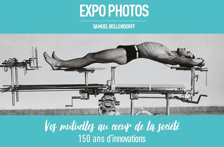 photo issue de l'exposition Vos mutuelles 150 ans d'innovations mutualistes