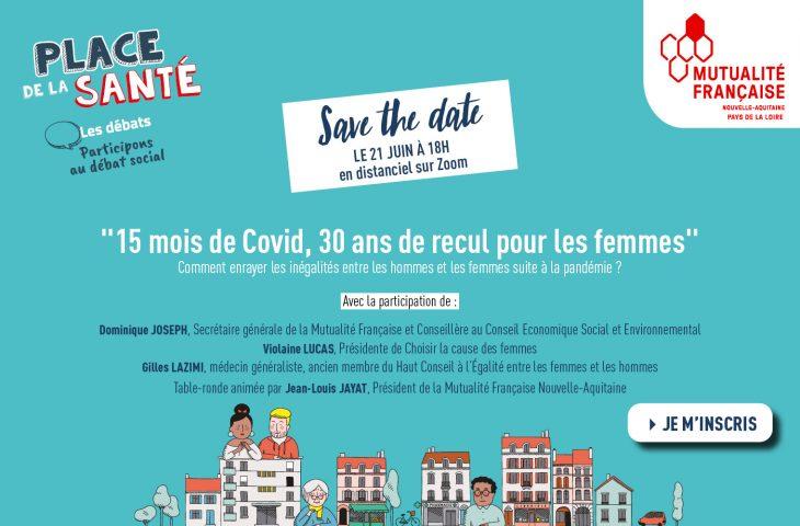 REPLAY Webinaire : 15 mois de Covid, 30 ans de recul pour les femmes